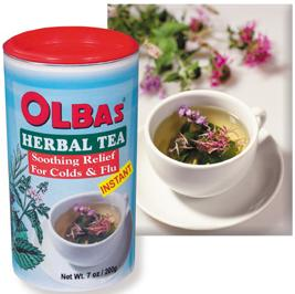 Olbas herbal tea