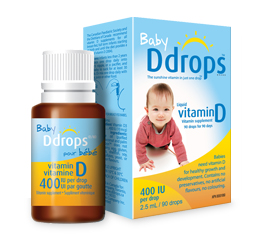 Baby Ddrops Liquid Vitamin D3 400 Iu 90 Drops 0 08 Ounce