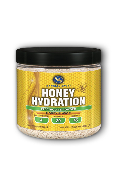 Natural electrolyte powder