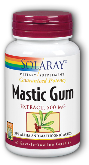 Uses for mastic gum
