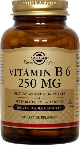 Vitamin B6 250 mg 100 Caps