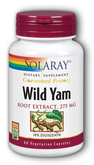 Wild yam vitamins