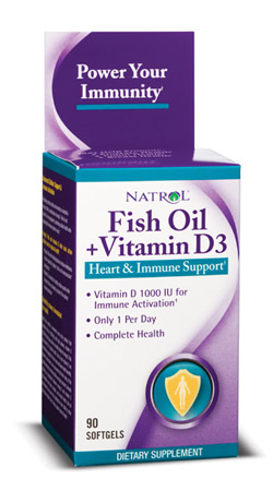 Fish oil vitamin d3 1000 mg 1000 iu 90 softgels made for Fish oil vitamin d3