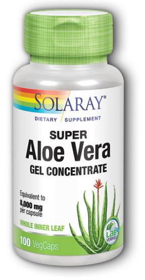 Concentrated aloe vera gel