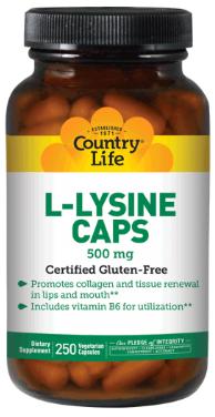 L-lysine 500 mg benefits