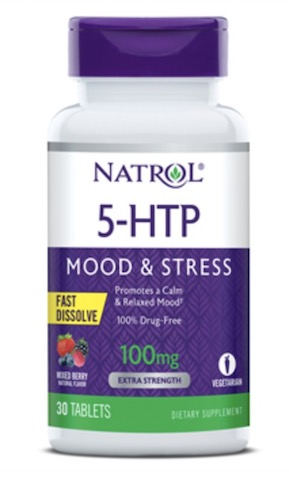 5 htp 100 mg fast dissolve 30 tabs made by natrol for 5 htp plante