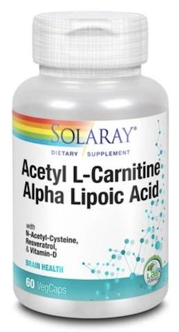 L carnitine and alpha lipoic acid