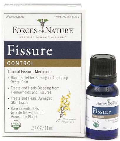 Relieve anal fissure pain