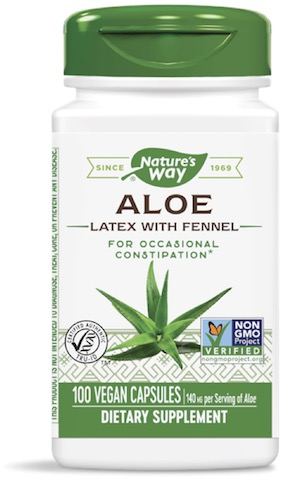 Aloe latex and leaf
